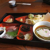 tempura, soba...