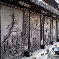 พระธาตุประจำปีเกิด หอศิลป์สุทฺธจิตฺโต วัดหมื่นสาร