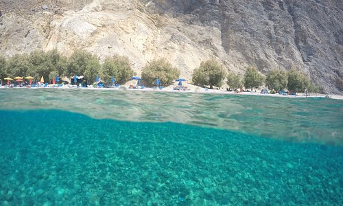 Glika Nera Beach, sweet water beach (Sfakia)