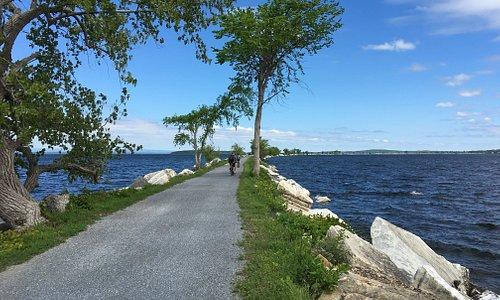 Island Line Bike ou le chemin sur le marbre