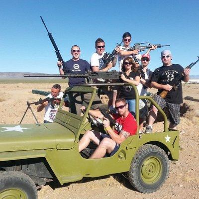 The Ultimate Outdoor Machine Gun Adventure