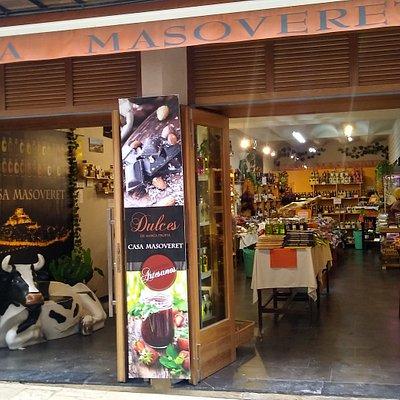 tienda de delicatessen de productos artesanos