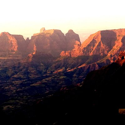 Sunset Simien Mountains