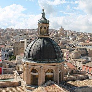 Panorama dal Campanile della Cattedrale San Giovanni Battista