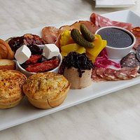 Charcuterie sharing plate