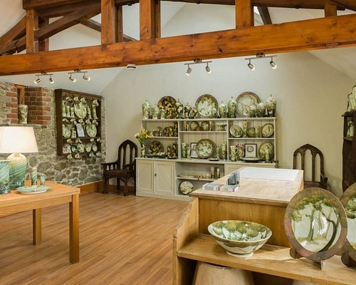 The Gallery- full range of pottery for sale, including many items sold nowhere else.