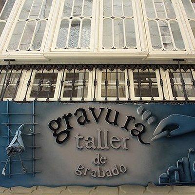 Galería Taller Gravura, centro histórico de Málaga