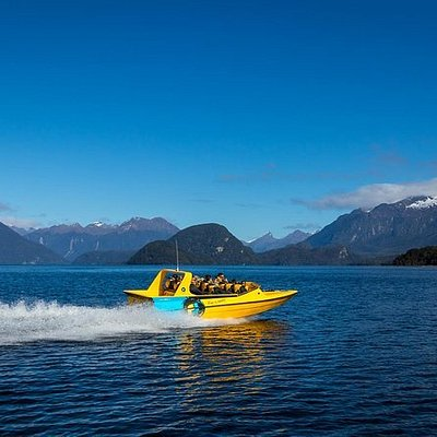 Pure Wilderness Jet Boat Tour through Fiordland