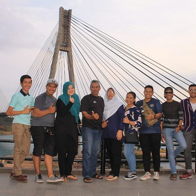 My trip with customers from singapore