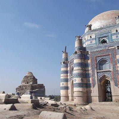 Tomb of Bibi Jawindi at Uch sharif