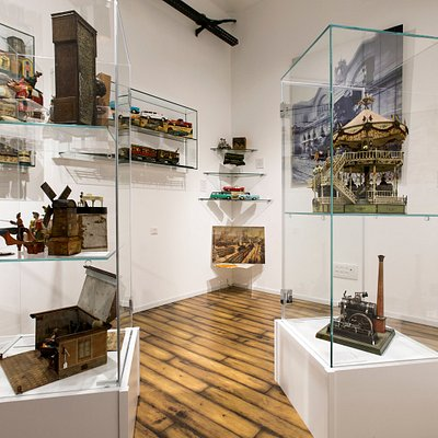 Just one part of our recently expanded Gallery which houses some of the most important antique toys in the world