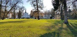 Wiosna w parku.