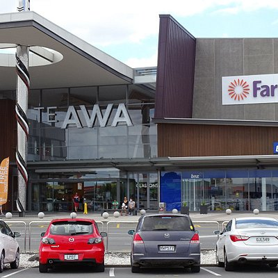 Te AWA - the main mall building