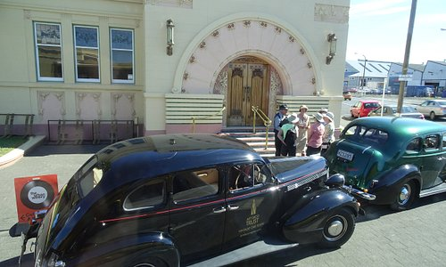 Period piece tours (circa 1930's) launch from this spot
