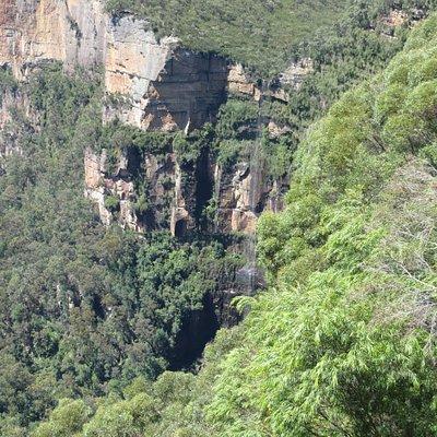 Waterfalling at Bridal Veil Falls