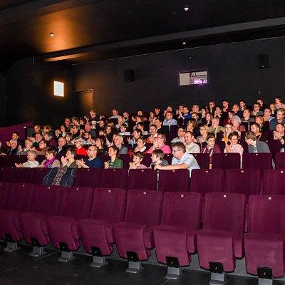 La salle de cinéma du ciné Gedinne.