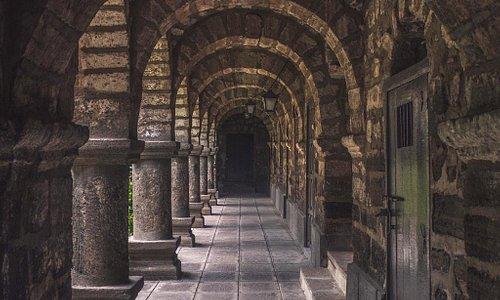 Portales en la plaza Mayor de Ayacucho
