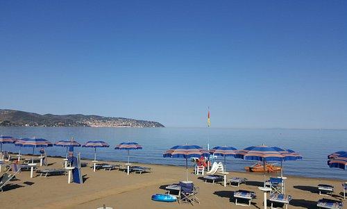 Spiaggia attrezzata del Bagno Serena