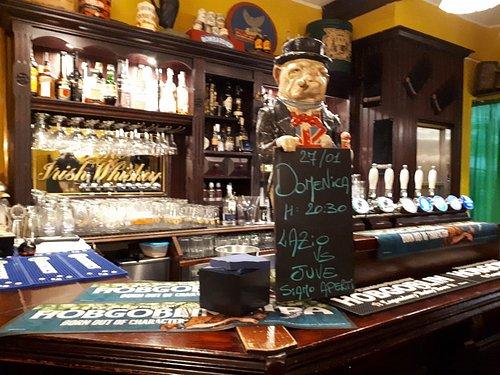 Il bar al piano terreno
