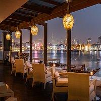 Terrace view from Vivaldi Restaurant