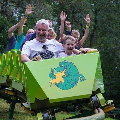 Green Dragon Roller Coaster