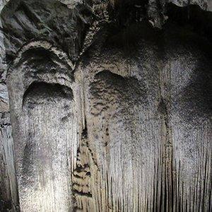 stalacmites ressemblant à un mammouth