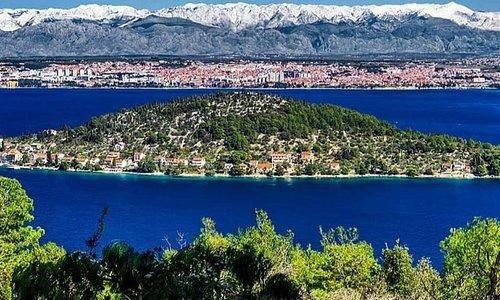 Good morning from ☀️ Preko, looking onto Island Osljak, Zadar & Velebit. What a view! #SayYesToEverything #SayYEStoZadarRegion #Zadar_Region  📷📸 Instagram.com/aleksandargospic