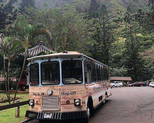 The hula Hula Hopper exploring Iao Valley