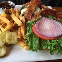 bacon blue cheese burger