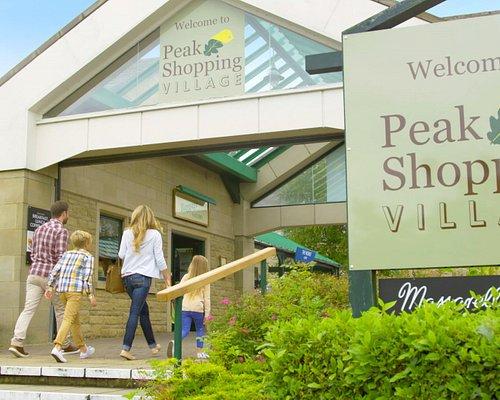 Entrance to Peak Shopping Village