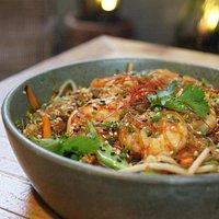 Pad Woon Sen, fideos finos de soja