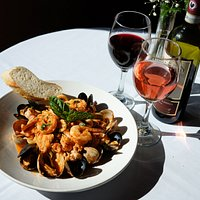 Our seafood is fresh and delicious. Ask your server about the best wine to pair with your dish.