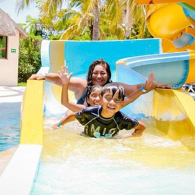 Recuerdos del parque acuatico en All Ritmo Resort & Water Park