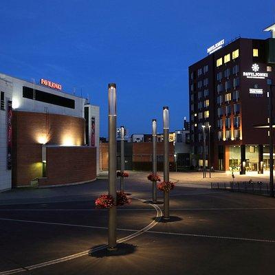 Paviljonki on monipuolinen tapahtumakeskus Jyväskylän keskustassa.