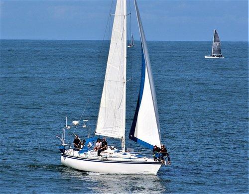 Sailing aboard breath of an angel