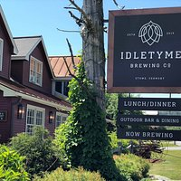 Be sure to check out our sign, we'll keep you up to date on what is going on. Come check out what we are brewing!