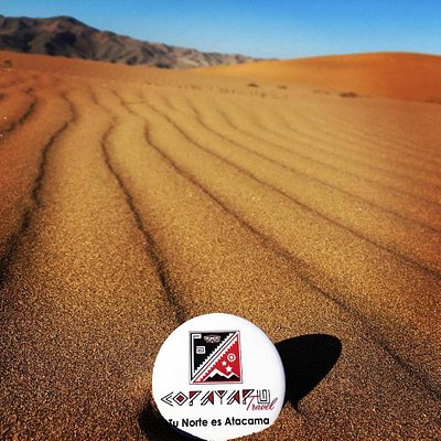 Recorrido por el mar de dunas de Copiapó