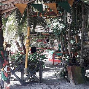 Zion beach bar