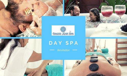 Colibrí Mar Spa,  vive una experiencia de salud, belleza y bienestar, te esperamos en Palomino.