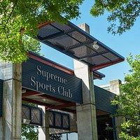 Exterior of Supreme Sports Club