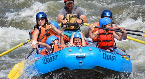 Rafting Bighorn Sheep Canyon is fun for the whole family!