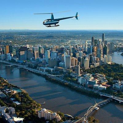 Brisbane Helicopter Flight