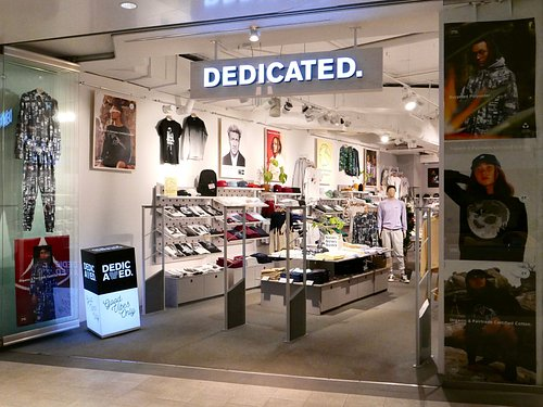 Store front inside Gallerian Mall