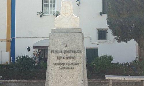 Busto de Publia Hortensia de Castro