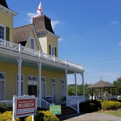 The Cullman County Museum is located in a replica of John Cullmann's home.