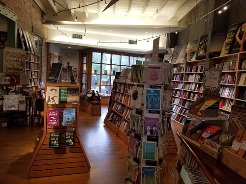 Such a lovely spot,  great bookstore