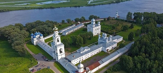Veliky Novgorod: Tour to Yuriev Monastery and ''Vitoslavlitsi'' Museum