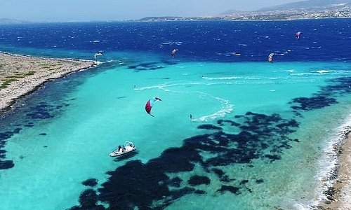 Aliki & Panteronisia with traditional boat starts from Alyki in Paros Island