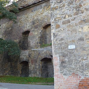 А вот и Голодная стена...