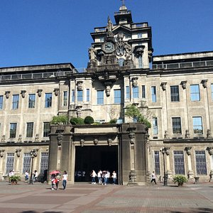 Main Building. This edifice holds the distinction of being the first modern-day earthquake-resistant building in the Philippines. The masterpiece designed by friar-engineer Fr. Roque Ruano.